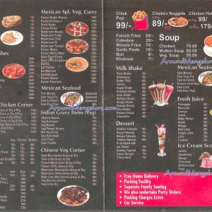 Food Menu - Mexican Hot n Spicy - Valencia, Mangalore