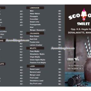 Scoopz n Smilez - Juice and Shake Bar - Deralakatte, Mangalore