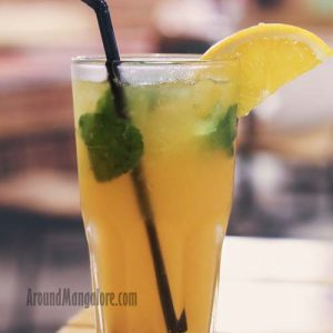 Orange Mint Cooler - Onesta (Pizzeria) - Mak Mall, Kankanady, Mangalore