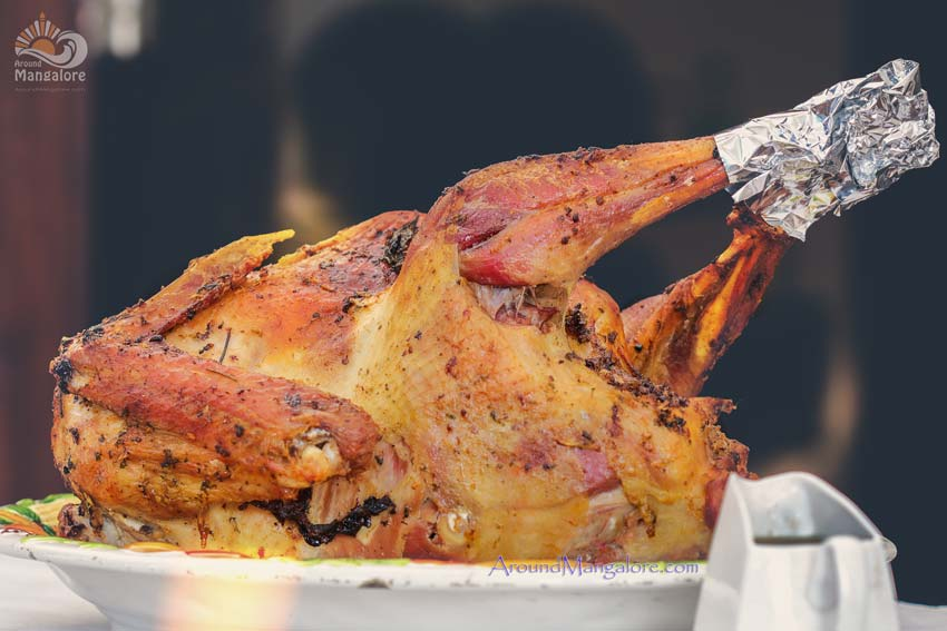 Stuffed Turkey Roast - Pogo's Kitchen - Food Catering & Delivery Service - Kadri, Mangalore