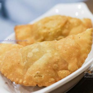 Chicken Samosa - Chacha Chaiwala - Hyderabadi Dum Chai - Attavar, Mangalore