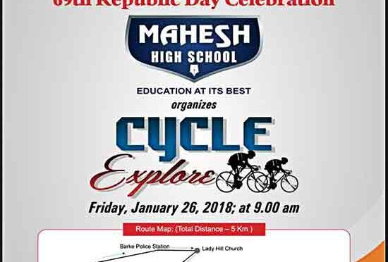 Cycle Explore - 26 Jan 2018 - Mangalore