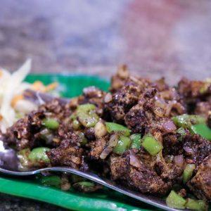 Gobi Pepper Fry - Jordania Restaurant - Bejai, Mangalore