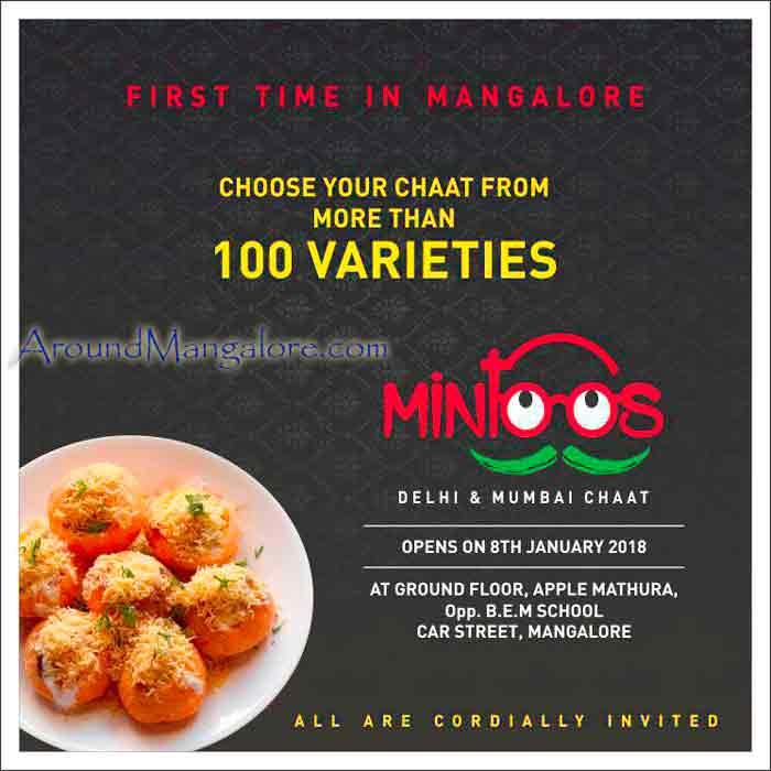 Mintoos - Delhi & Mumbai Chaat - Car Street, Mangalore