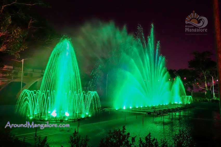 Musical Fountain - Kadri Park, Mangalore
