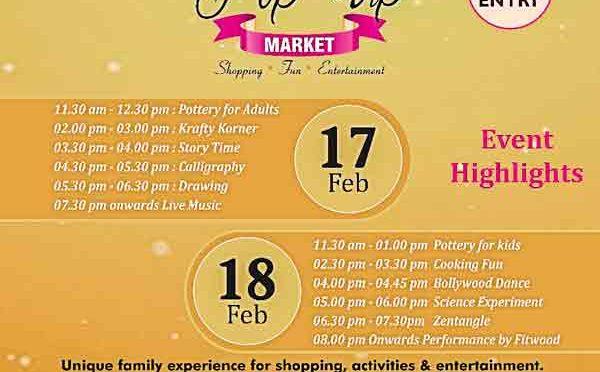Pop Up Market Mangalore - 17 & 18 Feb 2018 - Mangalore - Event
