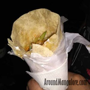Spicy Oriental Chicken Roll - Traffic Jam Food Truck - Mangalore