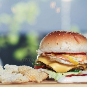 Club Grilled Chicken Burger - The Cake Club - Bejai Kapikad Road, Mangalore