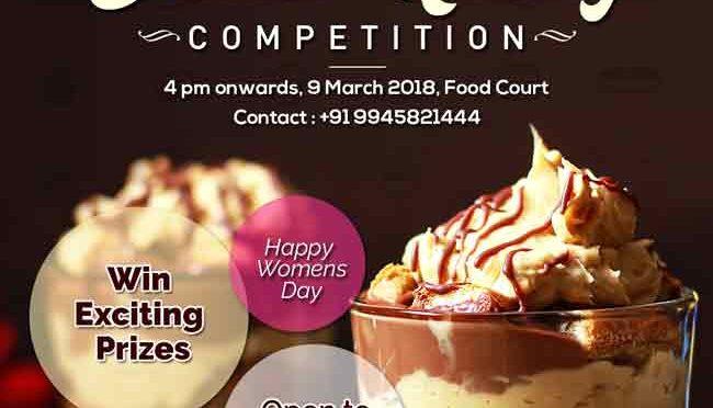 Dessert Making Competition - 9 Mar 2018 - Forum Mall, Mangalore