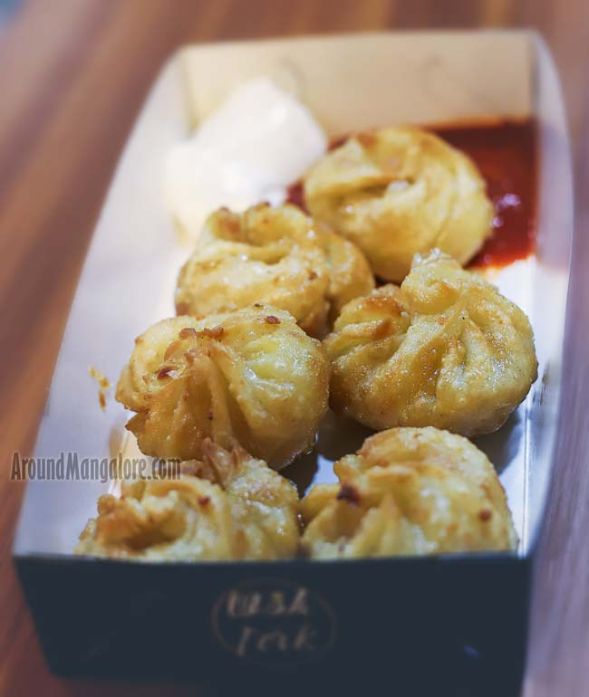 Fried Momos - Wok & Fork - Ballalbagh, MG Road, Mangalore