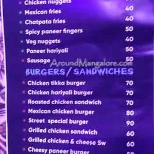 Food Menu - Mangala's Food Street - Light House Hill Rd, Mangalore