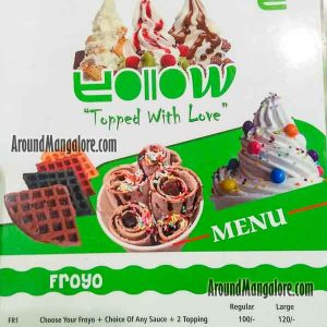 Food Menu - Yollow Dessert - The Forum Fiza Mall, Mangalore
