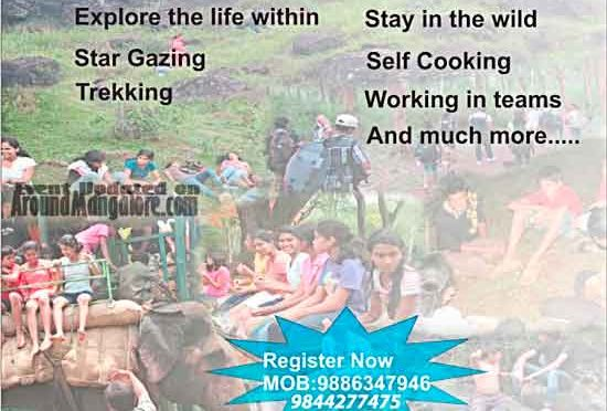 Jungle Survival Camp - 3 to 5 May 2018 - Center of Integrated Learning, Mangalore