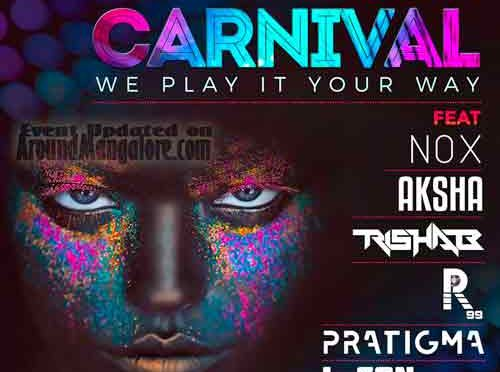 Neon Carnival - 7 Apr 2018 - The Last Stop Lounge - Mangalore