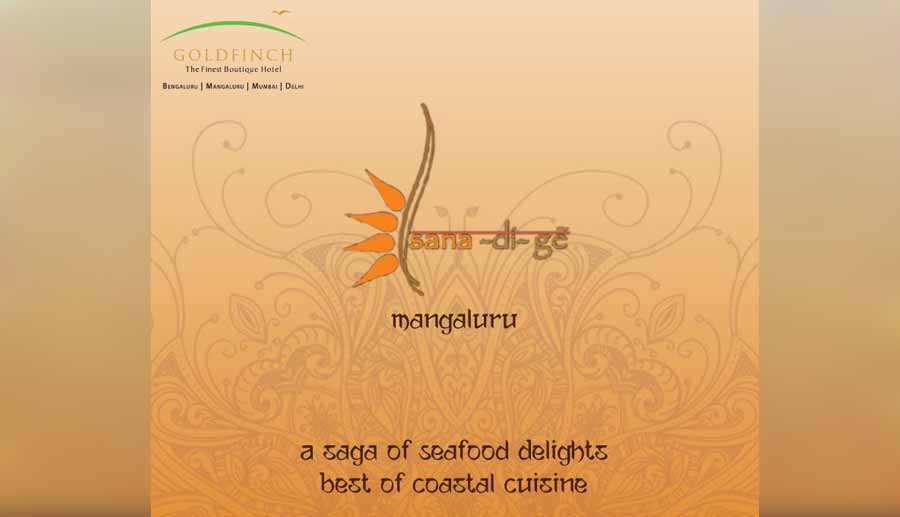 Sanadige - Seafood Restaurant - Goldfinch Hotel, Mangalore