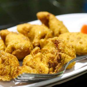 Chicken Fry Momo - Cafe Hoppin - Adyar, Mangalore