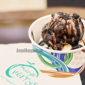 Chocolate Sundae - Mango Berrys - Natural Ice Cream - Marnamikatte, Mangalore
