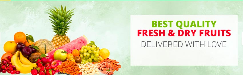 Fresh & Dry Fruits - Flower Mojo - flowermojo.com