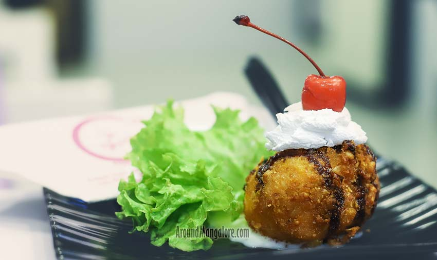 Fried Ice Cream - Le Shaay Cafe - MG Road, Kodialbail, Mangalore