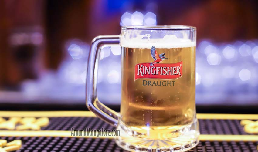 Kingfisher Mug - G77 - Lounge - Goldfinch Hotel, Mangalore
