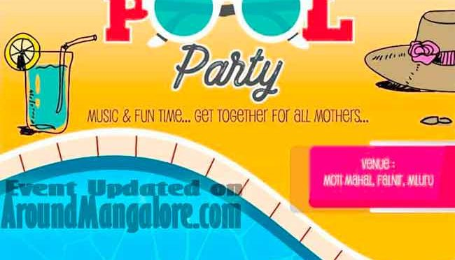 Mom & Child Pool Party - 13 May 2018 - Mothimahal, Mangalore