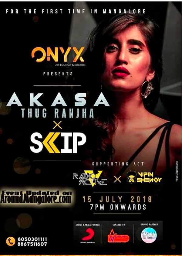 AKASA - 15 Jul 2018 - ONYX Air Lounge & Kitchen, Mangalore