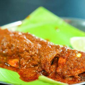 Bangude / Mackerel Masala Fry - Hotel Divyashree - Mannagudda, Mangalore