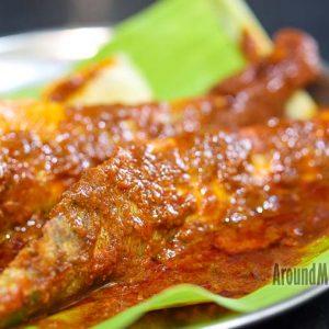 Kane / Ladyfish Masala Fry - Hotel Divyashree - Mannagudda, Mangalore
