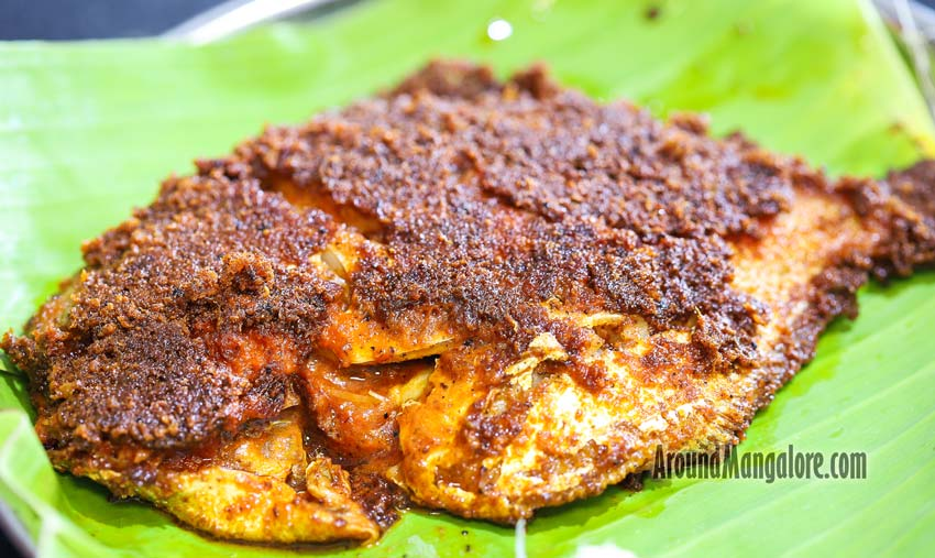 Maanji / Pomfret Tava Fry - Hotel Divyashree - Mannagudda, Mangalore