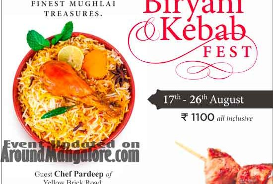 Biryani & Kebab Fest - 17 to 26 Aug 2018 - The Gateway Hotel, Mangalore
