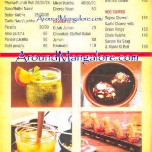 Food Menu - Punjab Bhatti Da Dhaba - Kankanady, Mangalore