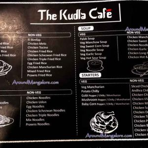 Food Menu - The Kudla Cafe - Kodialbail, Mangalore