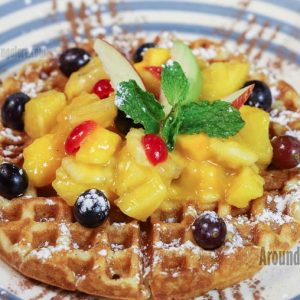 Fruit Waffle - TGG - The Good Galette - Attavar, Mangalore
