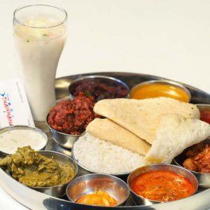 Chicken Thali - Hotel Thammanna - Kodialbail, Mangalore