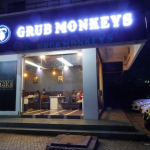 Grub Monkeys Cafe - Deralakatte, Mangalore
