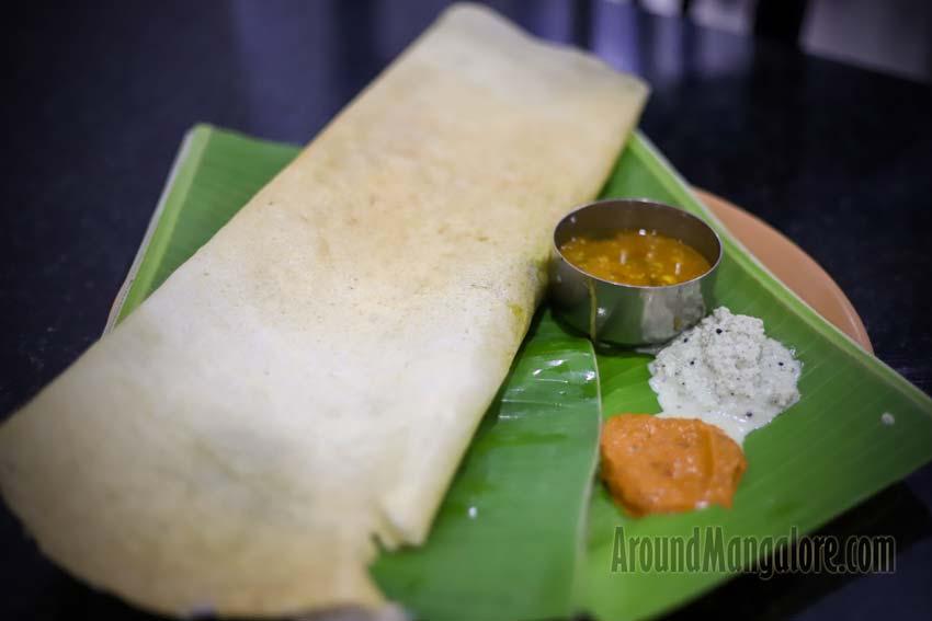 Masala Dosa - Hotel Sushmitha - Kuntikana, Mangalore