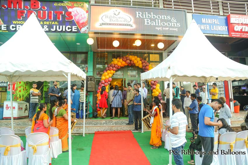 Ribbons and Balloons - The Cake Shop - Manipal
