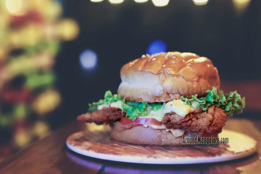 Zinger Burger - Hash Tag Cafe - Deralakatte, Mangalore