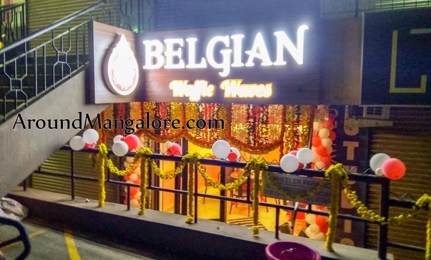 Belgian Waffle Waves - MG Road, Mangalore