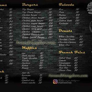 Food Menu - Frozen Treats - Cafe - Deralakatte, Mangalore