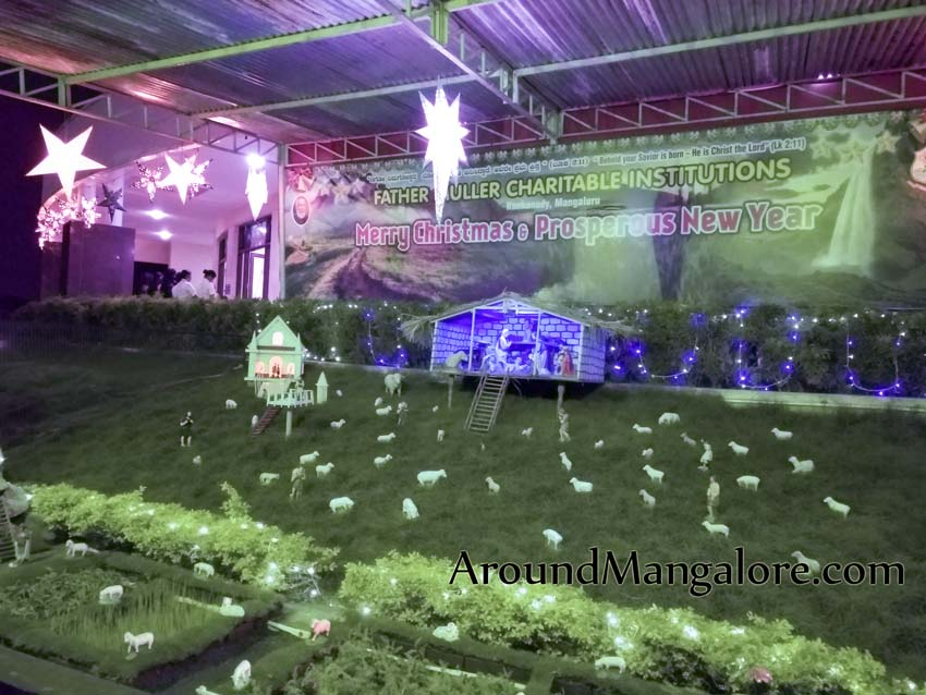 Father Muller Hospital, Mangalore – Christmas Crib 2018
