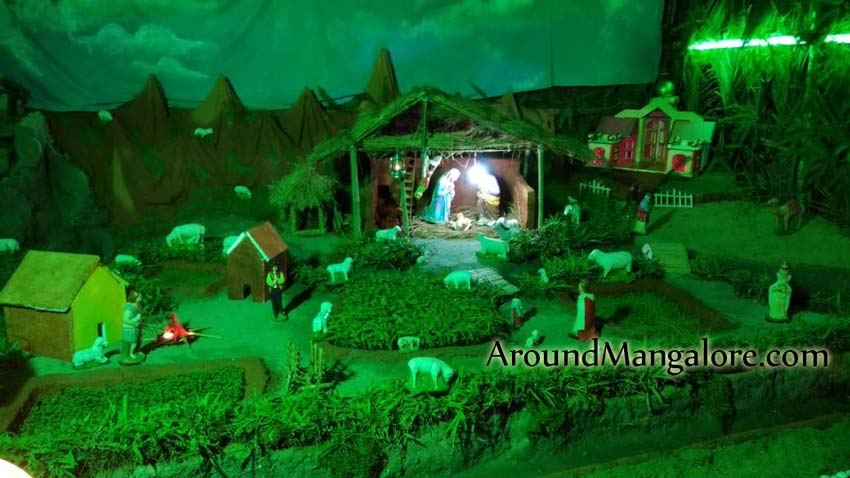Holy Family Church - Omzoor, Mangalore – Christmas Crib 2018
