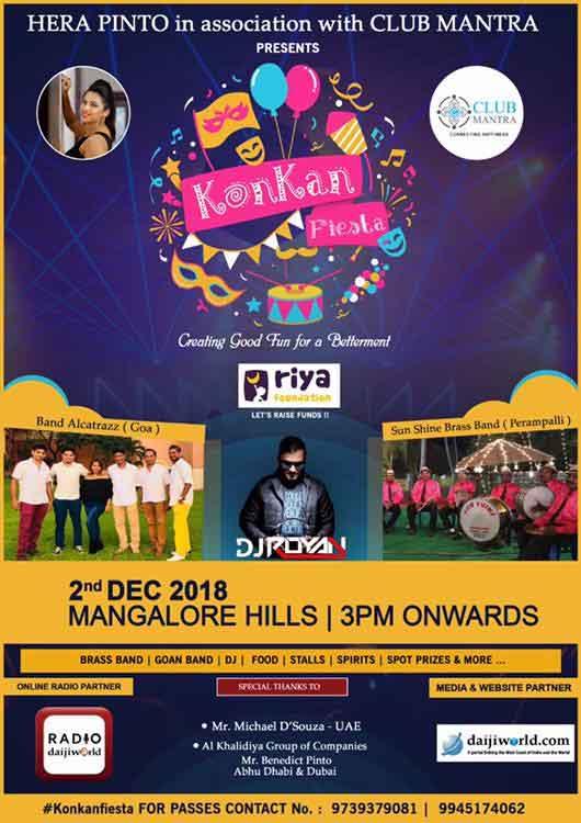 Konkani Feista - 2 Dec 2018 - Mangalore Hill, Mangalore