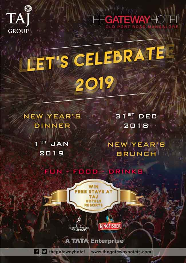 Lets Celebrate 2019 - Taj - The Gateway Hotel, Mangalore