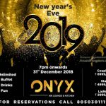 New Year's Eve 2019 - ONYX Air Lounge & Kitchen‎, Mangalore