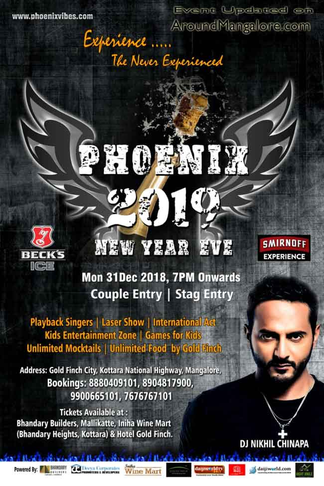 Phoenix 2019 - 31 Dec 2018 - GoldFinch City, Mangalore