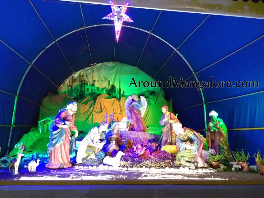Rosario Cathedral (aka Rosario Church), Mangalore – Christmas Crib 2018