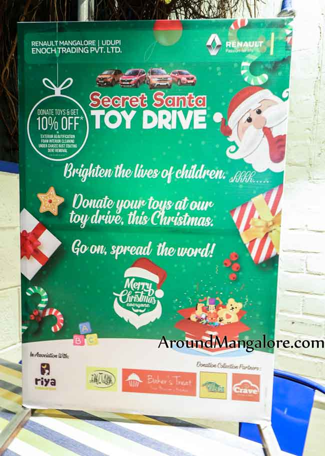 Secret Santa Toy Drive - Dec 2018 - Riya Foundation, Mangalore