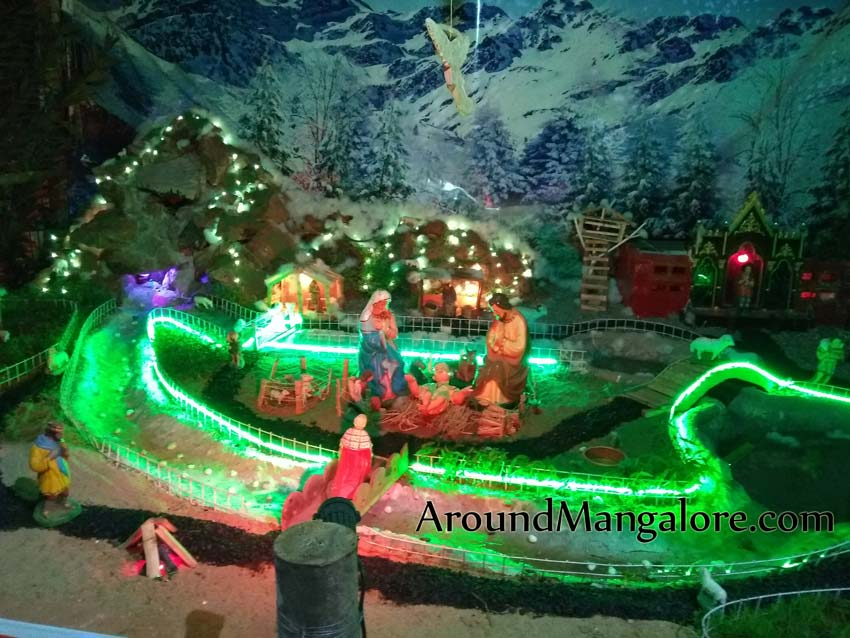St Anthony's Poor Homes, Jeppu, Mangalore – Christmas Crib 2018