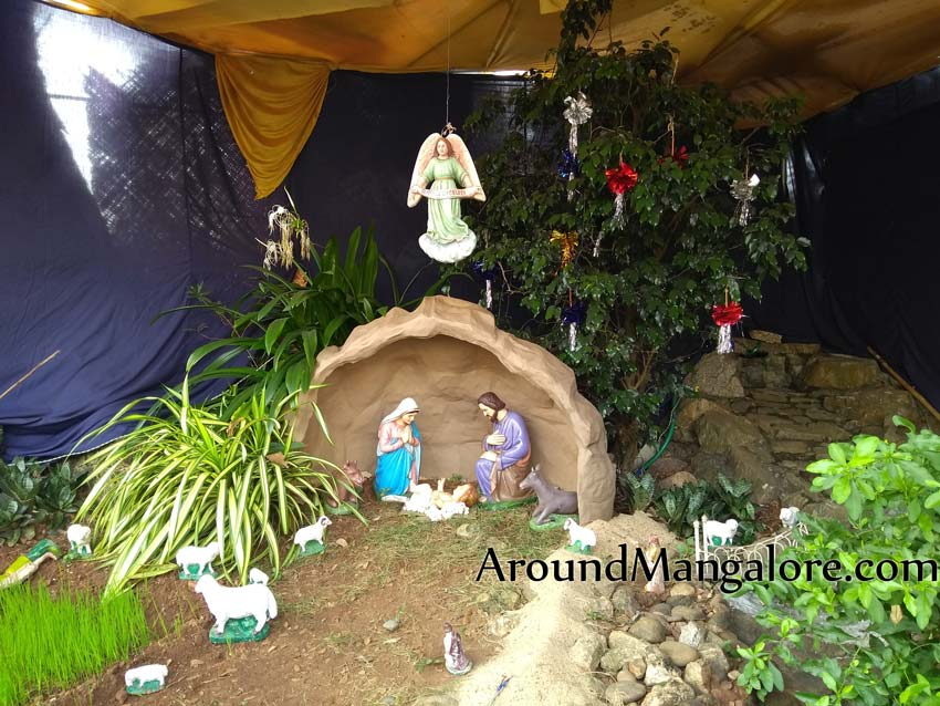 St. Sebastian Church, Bendoor, Mangalore – Christmas Crib 2018